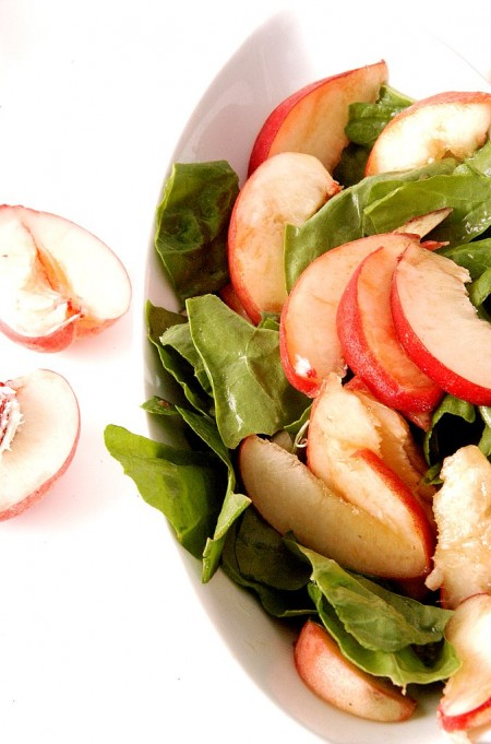 white-peach-sorrel-salad