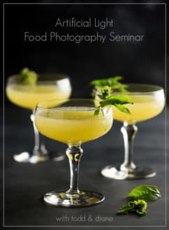 How to photograph food in artificial light seminar with @whiteonrice