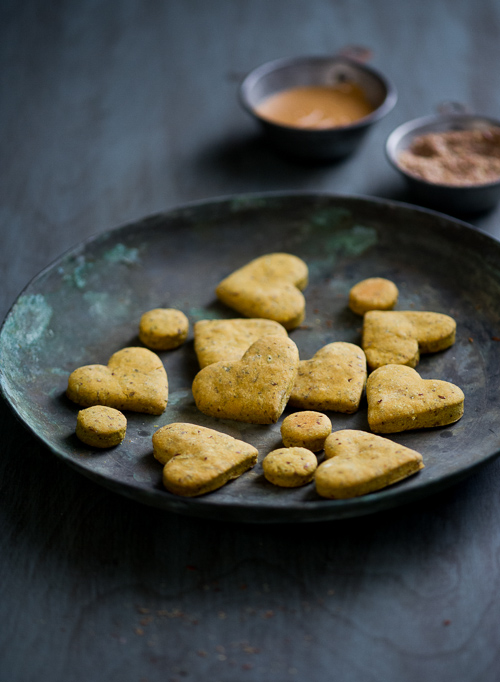 Dog Biscuits recipe from White On rice couple