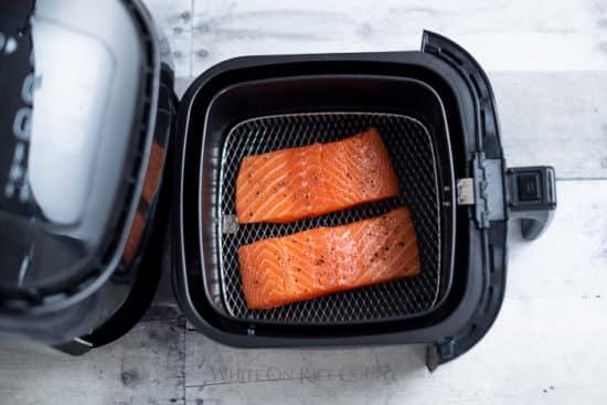Air Fried Salmon Recipe Healthy Salmon @whiteonrice