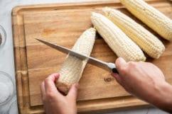 Cortar el maíz