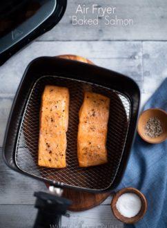 Healthy Air Fryer Salmon Recipe Air Fried @whiteonrice