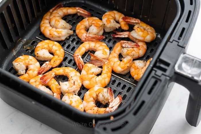 Air Fryer Shrimp Recipe that's Healthy and Easy | WhiteOnRiceCouple.com
