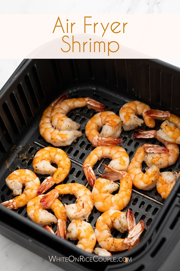 Air Fryer Shrimp Cocktail Recipe Homemade Sauce | WhiteOnRiceCouple.com