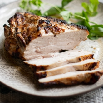 Air Fried Turkey Breast | @WhiteOnRice