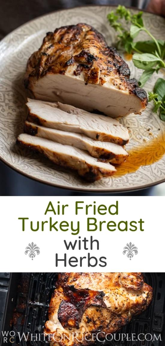 Air Fried Turkey Breast | @WhiteOnRice