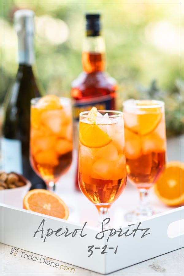 Aperol Spritz Recipe Cocktail in glasses