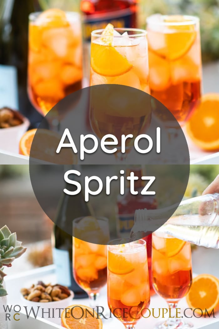 Aperol Spritz Recipe Cocktail | WhiteOnRiceCouple.com