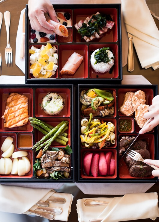 Bento Box Lunch at Willow Springs Spa, Fairmont Mayakoba | @whiteonrice
