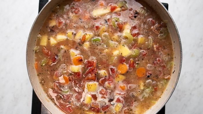 Best Manhattan Clam Chowder Recipe | WhiteOnRiceCouple.com