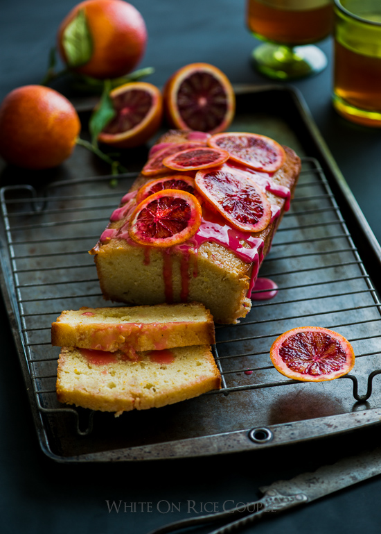 Blood Orange Buttermilk Pound Cake Recipe on WhiteOnRiceCouple.com