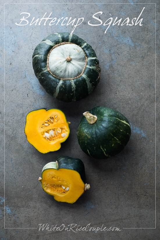 Buttercup Squash Winter Squash Varieties and Pumpkin Guide by Todd and Diane | @whiteonrice