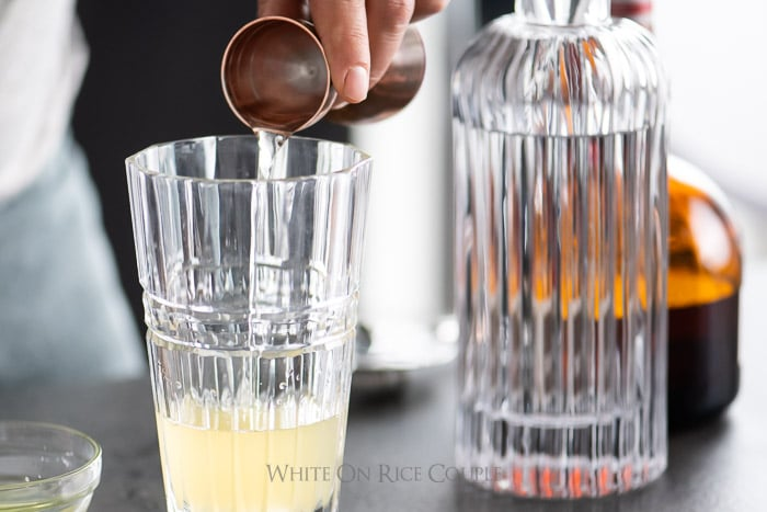 Classic White Lady Cocktail Recipe | WhiteOnRiceCouple.com