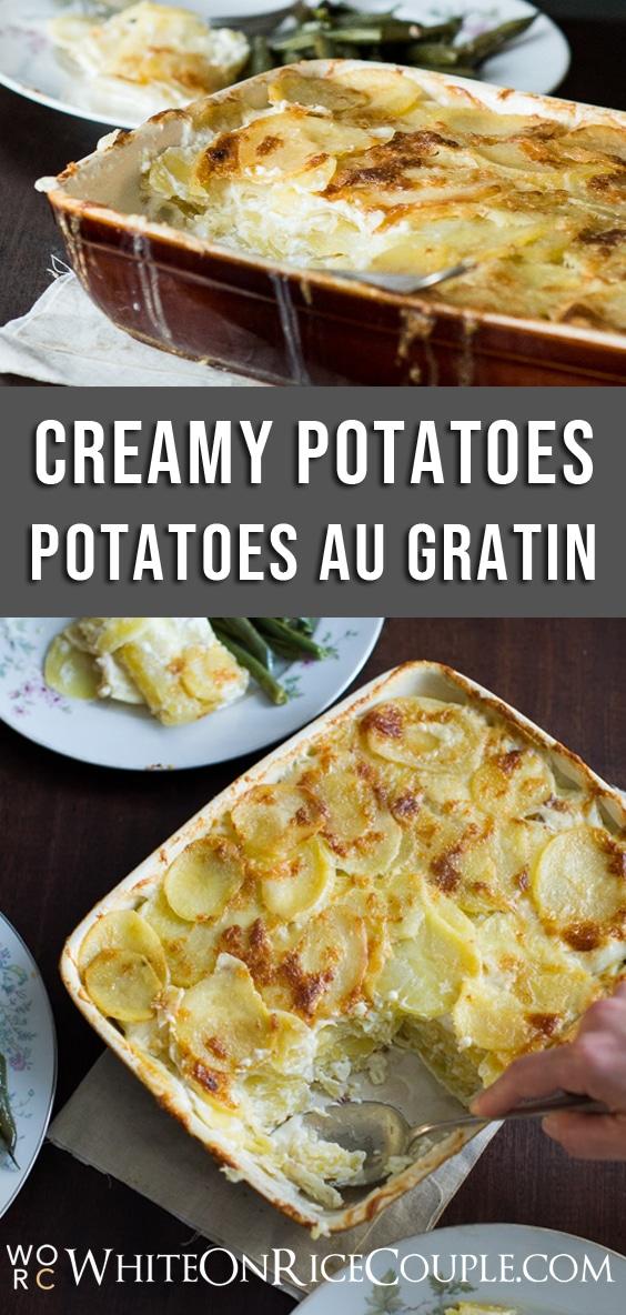 Potatoes au Gratin Recipe Best Scalloped Potatoes Recipe @whiteonrice