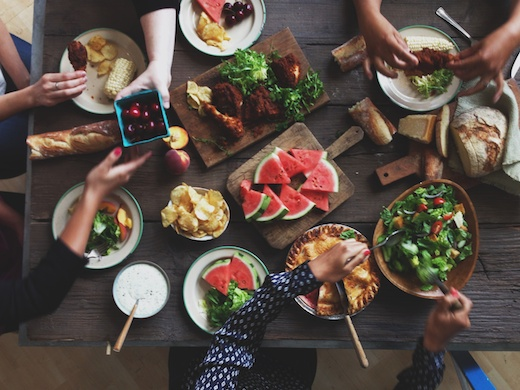 Food photography and food styling workshop with Todd Porter and Diane Cu on CreativeLive