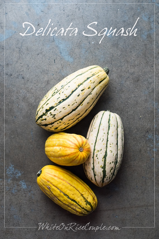 Winter Squash and Pumpkin Guide: Delicata Squash | @whiteonrioce