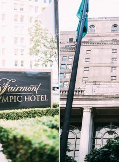 Fairmont Olympic Hotel, Seattle Washington | @whiteonrice