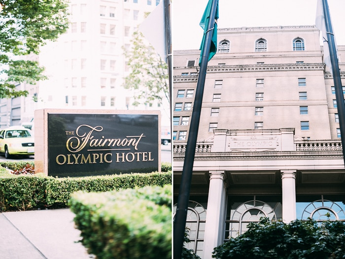 Fairmont Olympic Hotel, Seattle Washington | @whiteonrice