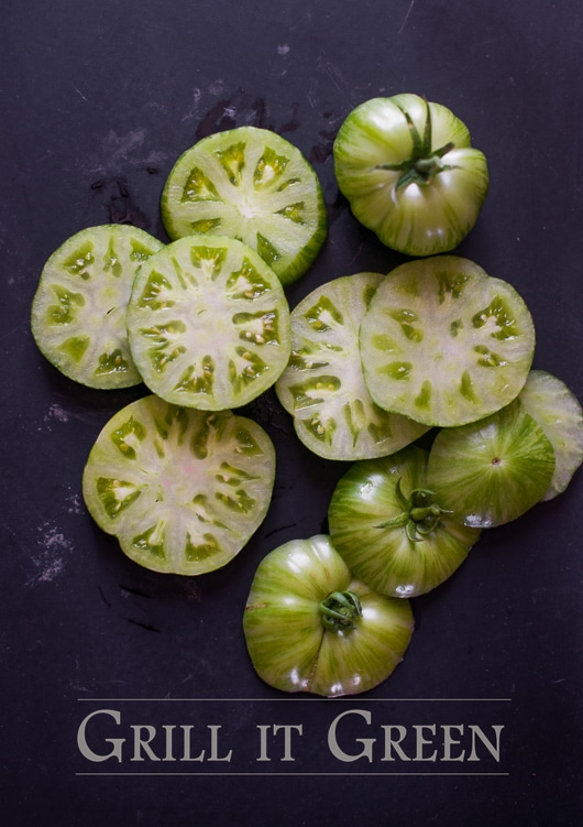 Green Tomato Recipe for Summer Green Tomatoes @whiteonrice
