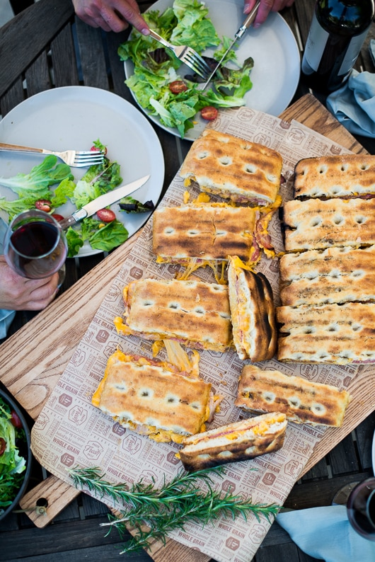 Best bbq grilled cheese sandwich recipe that's truly on the grill | @whiteonrice