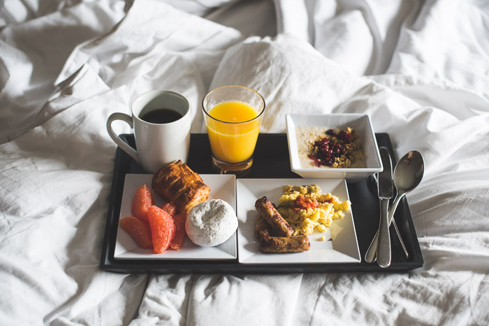 Hyatt Place Breakfast Downtown Austin image by @whiteonrice