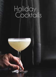 Holiday Cocktails Recipe for New Years Eve and Holidays @whiteonrice