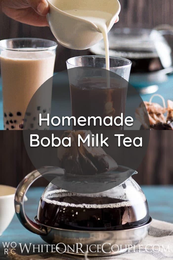 Boba Thai Tea Recipe or Thai Bubble Tea Recipe @bestrecipebox