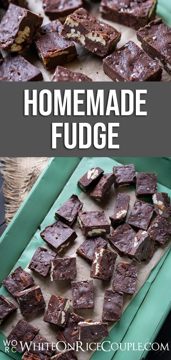 Best Fudge Recipe for Christmas and Holidays | whiteonricecouple.com