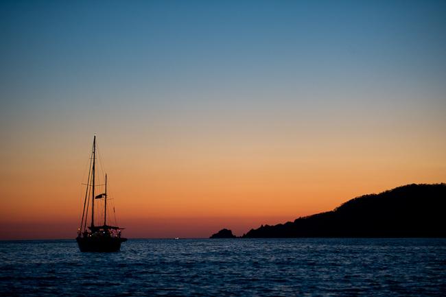 beach sunset photo
