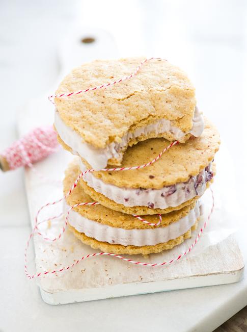 Ice cream sandwiches recipe by whiteonricecouple.com