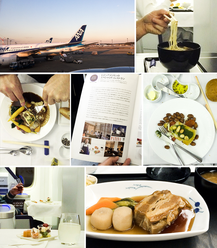 Awesome In-Flight Menu on All Nippon Airways (ANA). Story on @whiteonrice