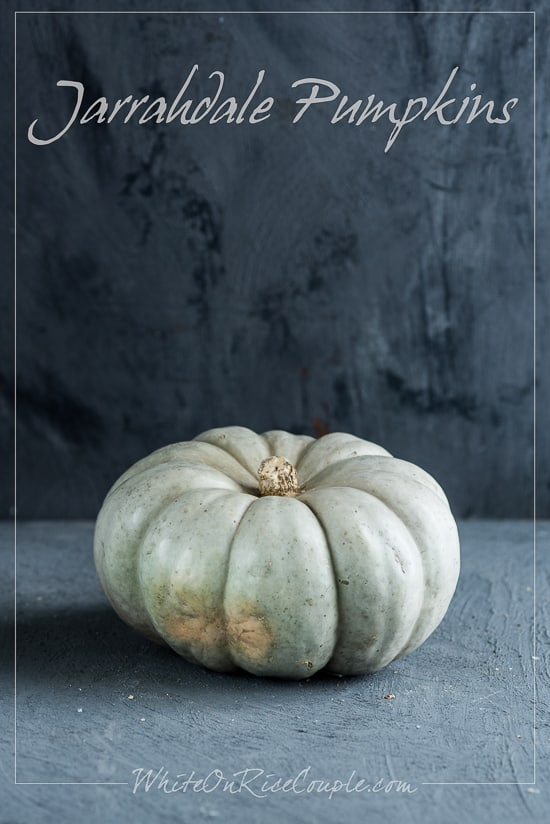 Jarrahdale Pumpkin Turban Squash Winter Squash Varieties and Pumpkin Guide by Todd and Diane | @whiteonrice