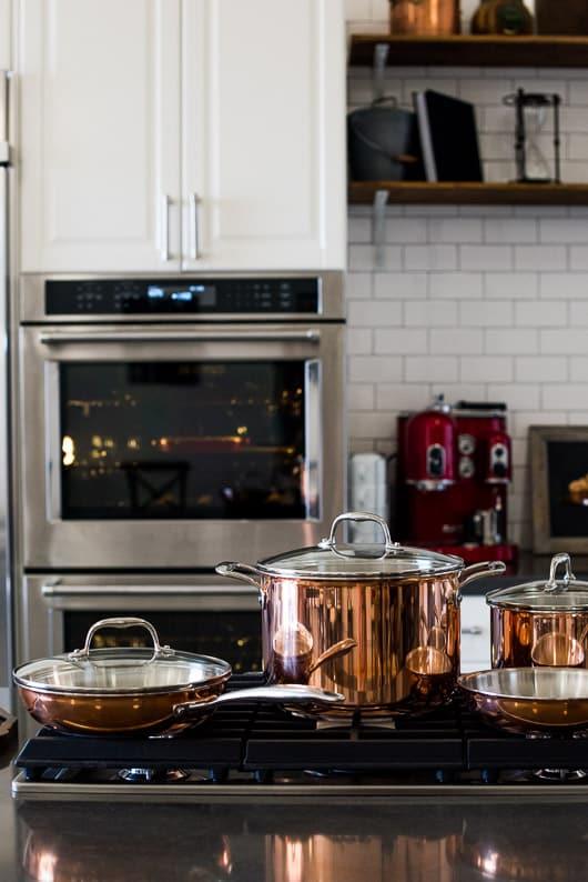 White Kitchen Design, Subway Tile at Todd & Diane Studio White On Rice Couple   @whiteonrice