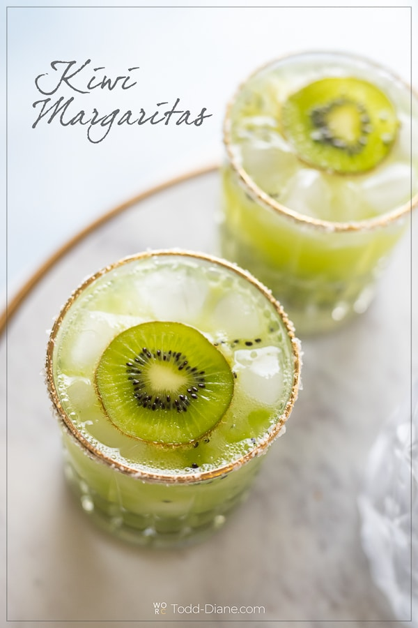 Kiwi Margarita Cocktail
