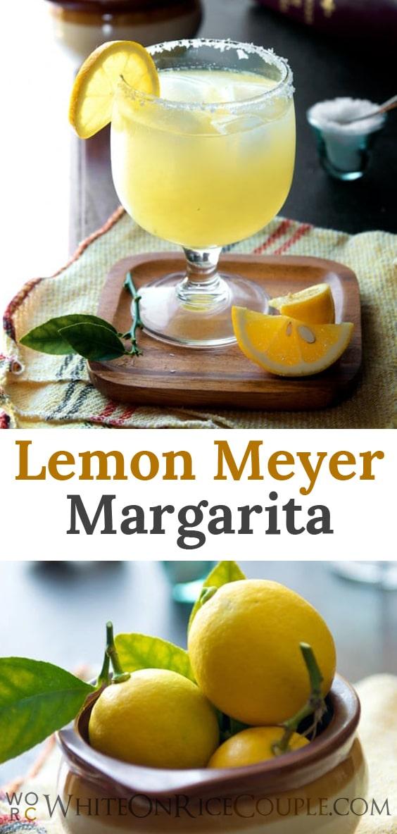 meyer lemon margarita recipes