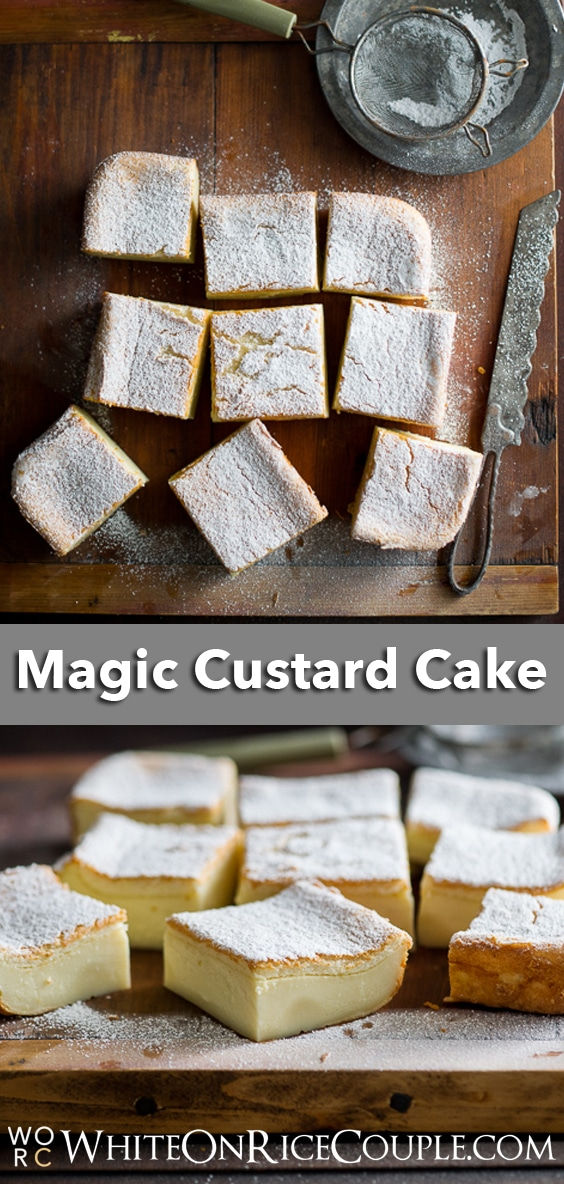 Magic Custard Cake Recipe from WhiteOnRiceCouple.com