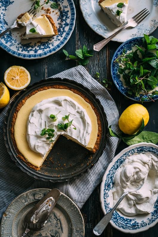 Lemon Pie Recipe with Our Meyer Lemons