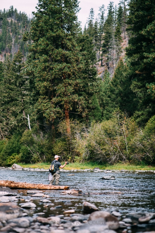 Montana Fly Fishing Trip in Bozeman, Missoula, Bitterroot mountains and the Madison River | @whiteonrice