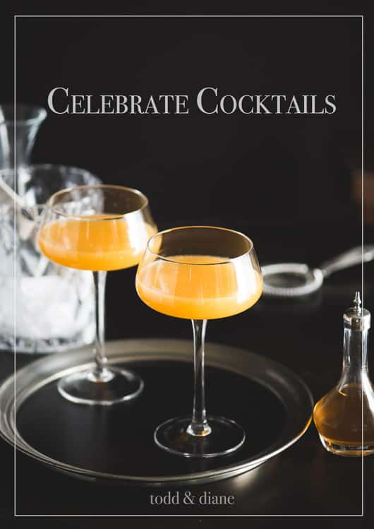 Great Collection of New Years Cocktail Recipes to Celebrate | @whiteonrice