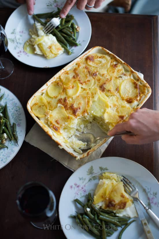 Potatoes au Gratin Recipe Best Scalloped Potatoes Recipe @whiteonrice