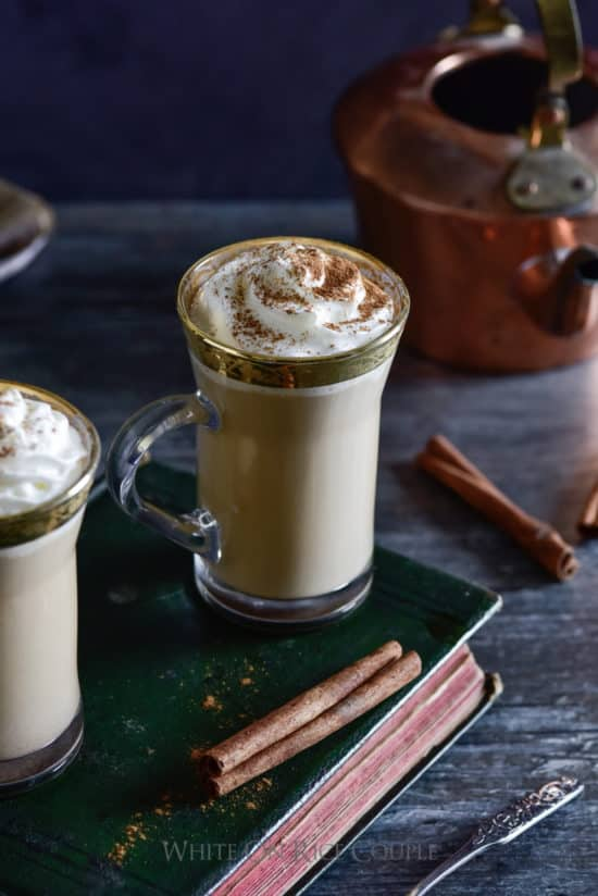 Pumpkin Spice Latte Recipe @whiteonrice