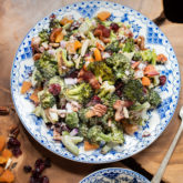 Roasted Broccoli Salad Recipe - WhiteOnRiceCouple.com