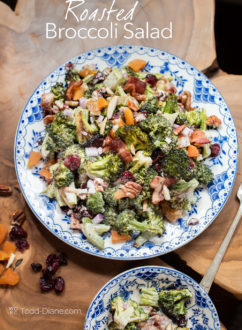 Roasted Broccoli Salad Recipe - WhiteOnRiceCouple.com