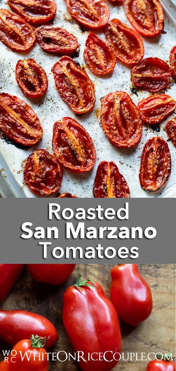 San Marzano Tomatoes Variety | WhiteOnRiceCouple.com