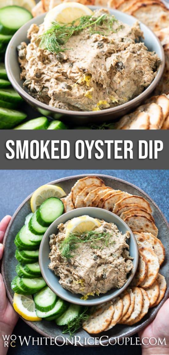 Smoked Oyster Dip Recipe   WhiteOnRiceCouple.com