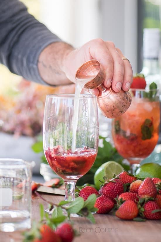 strawberry daiquiri rezept original