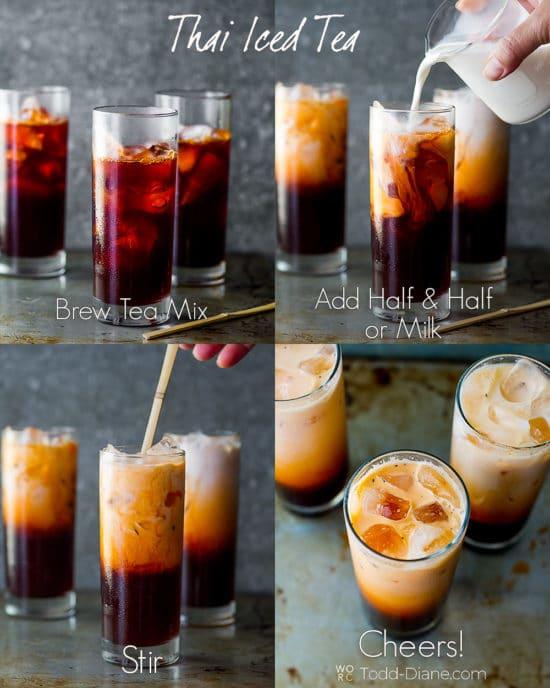 Easy Thai Tea step by step photos