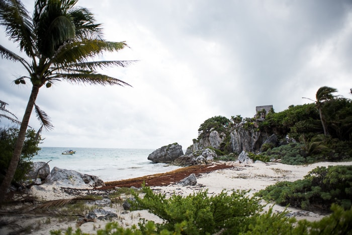 Ancient Mayan Ruins in Tulum, Mexico | @whiteonrice