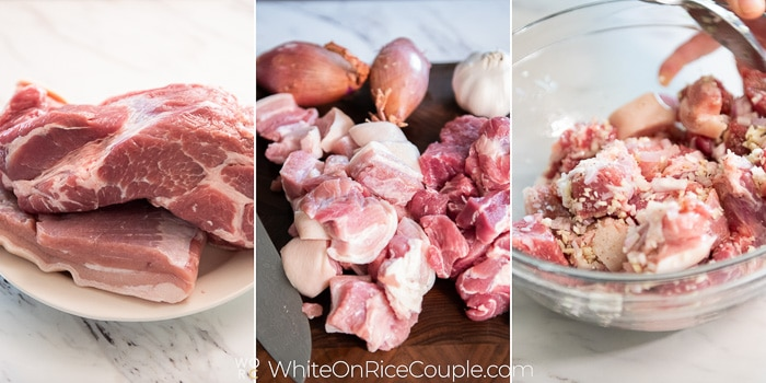 How to marinate the meat step by step