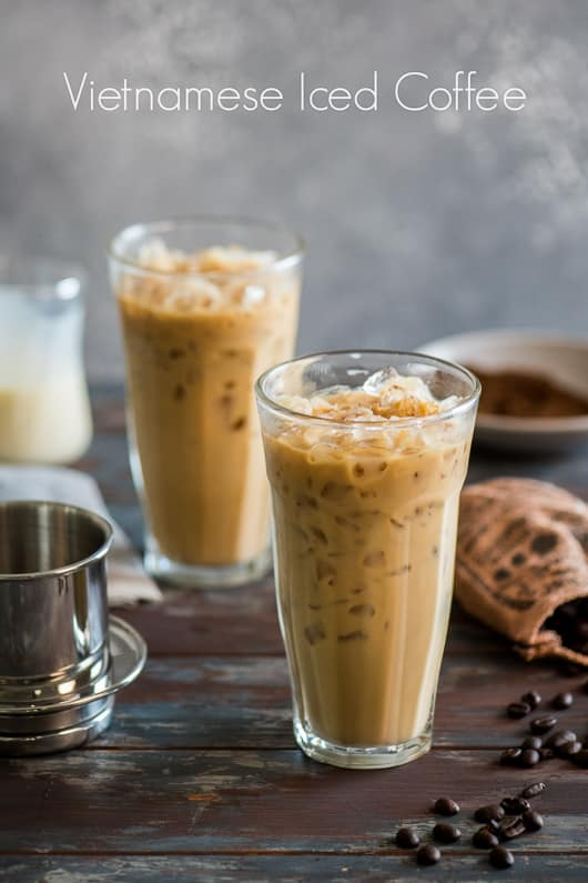 Vietnamese Iced Coffee Recipe Easy Homemade White On Rice Coupl